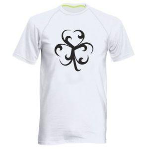 Męska koszulka sportowa Koniczyna