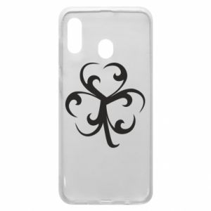 Phone case for Samsung A20 Clover