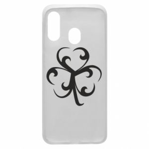 Phone case for Samsung A40 Clover