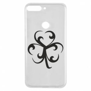 Phone case for Huawei Y7 Prime 2018 Clover