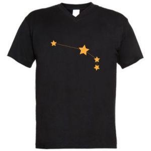 Męska koszulka V-neck Konstelacja Barana