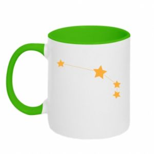 Two-toned mug Aries Сonstellation