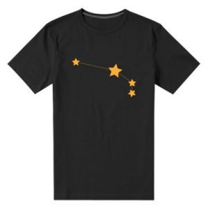 Męska premium koszulka Konstelacja Barana