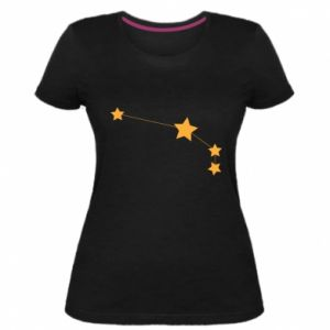 Damska premium koszulka Konstelacja Barana
