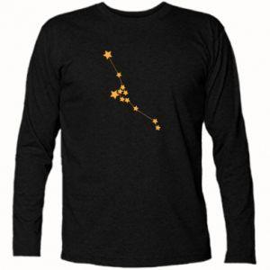 Koszulka z długim rękawem Konstelacja Byka - PrintSalon