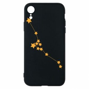 Phone case for iPhone XR Taurus Сonstellation