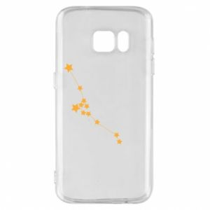 Phone case for Samsung S7 Taurus Сonstellation