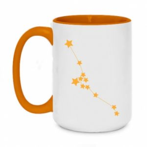 Two-toned mug 450ml Taurus Сonstellation