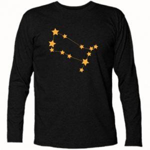 Koszulka z długim rękawem Konstelacja Gemini - PrintSalon