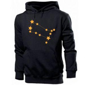 Męska bluza z kapturem Konstelacja Gemini