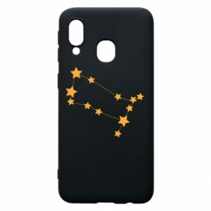 Phone case for Samsung A40 Gemini Сonstellation
