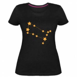 Damska premium koszulka Konstelacja Gemini - PrintSalon