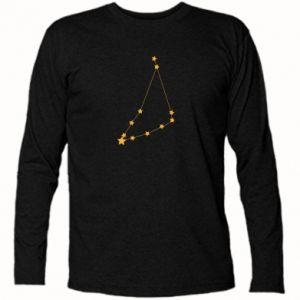 Koszulka z długim rękawem Konstelacja Koziorożca - PrintSalon