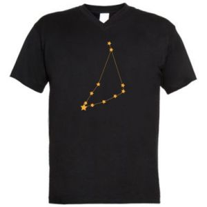 Męska koszulka V-neck Konstelacja Koziorożca