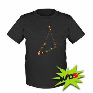 Kids T-shirt Capricorn constellation