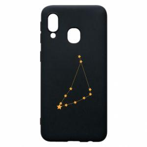 Etui na Samsung A40 Konstelacja Koziorożca