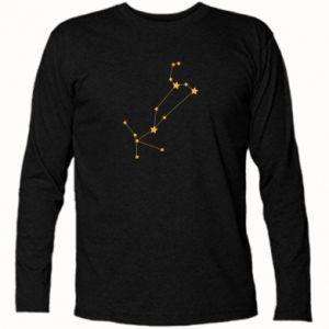 Koszulka z długim rękawem Konstelacja Lwa