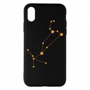 Phone case for iPhone X/Xs Leo сonstellation