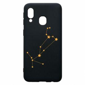 Phone case for Samsung A40 Leo сonstellation
