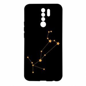 Etui na Xiaomi Redmi 9 Konstelacja Lwa