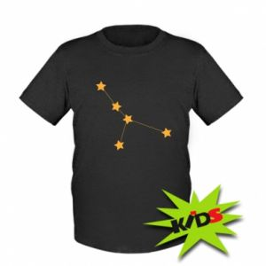 Kids T-shirt Cancer Сonstellation