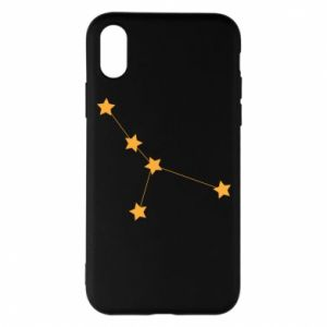 Phone case for iPhone X/Xs Cancer Сonstellation