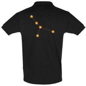 Men's Polo shirt Cancer Сonstellation