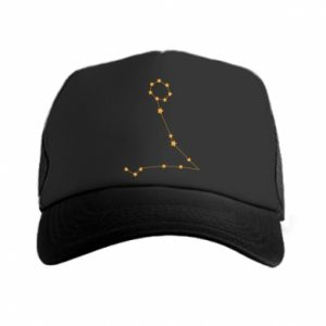 Trucker hat Pisces constellation