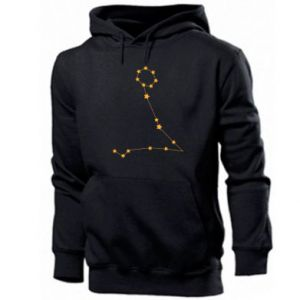 Men's hoodie Pisces constellation