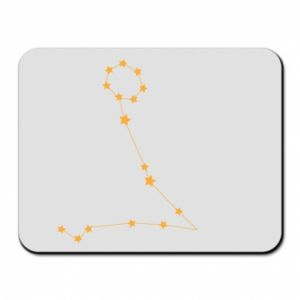 Mouse pad Pisces constellation