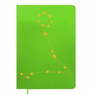 Notepad Pisces constellation