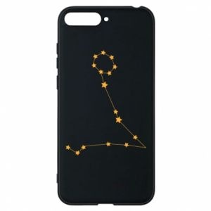 Phone case for Huawei Y6 2018 Pisces constellation