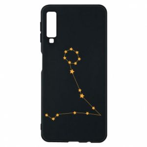 Phone case for Samsung A7 2018 Pisces constellation