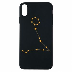 Phone case for iPhone Xs Max Pisces constellation
