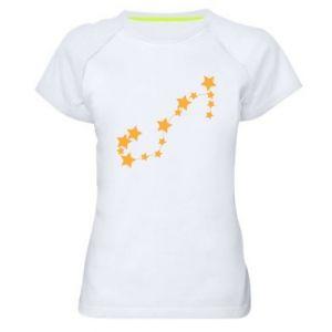 Women's sports t-shirt Scorpius Сonstellation