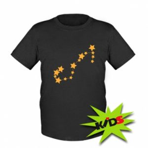 Kids T-shirt Scorpius Сonstellation