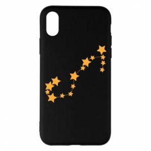 Phone case for iPhone X/Xs Scorpius Сonstellation