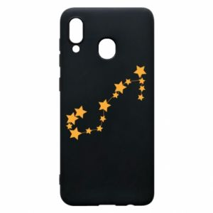 Phone case for Samsung A20 Scorpius Сonstellation