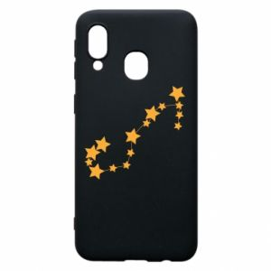 Phone case for Samsung A40 Scorpius Сonstellation