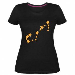 Damska premium koszulka Konstelacja Skorpion - PrintSalon