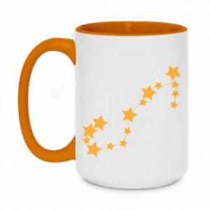 Two-toned mug 450ml Scorpius Сonstellation