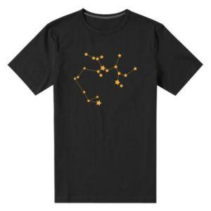 Men's premium t-shirt Sagittarius Сonstellation