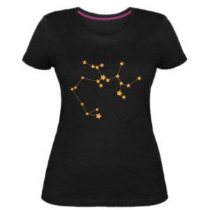Damska premium koszulka Konstelacja Strzelca - PrintSalon
