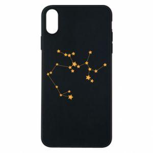 Phone case for iPhone Xs Max Sagittarius Сonstellation