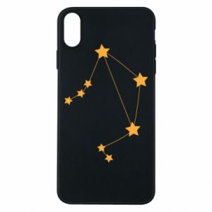 Phone case for iPhone Xs Max Libra Сonstellation