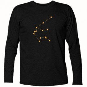 Koszulka z długim rękawem Konstelacja Wodnika - PrintSalon