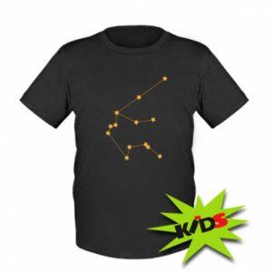 Dziecięcy T-shirt Konstelacja Wodnika - PrintSalon