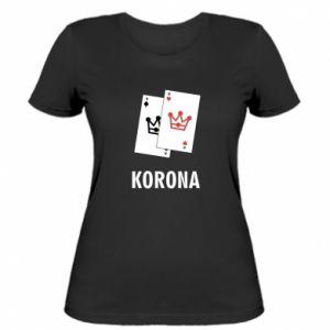 Women's t-shirt Crown