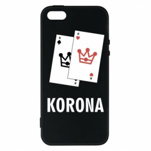 Etui na iPhone 5/5S/SE Korona