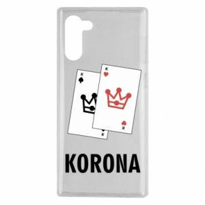 Samsung Note 10 Case Crown